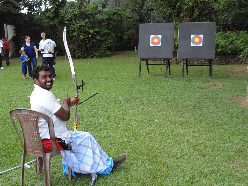 image of archery game
